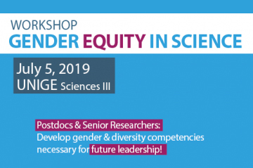 Workshop: Gender equity in science