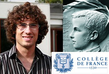 Hugo Duminil-Copin will give the Cours Peccot 2015 at Collège de France