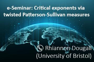 Online UZH & ETH Zurich - Ergodic Theory and Dynamical Systems Seminar