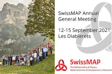 SwissMAP Annual General Meeting (12-15 Sept 2021, Les Diablerets)