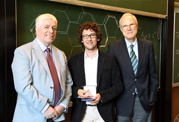 Hugo Duminil-Copin receives the Oberwolfach Prize