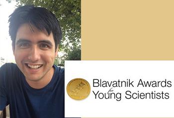 Clément Hongler receives the 2014 Blavatnik Regional Award
