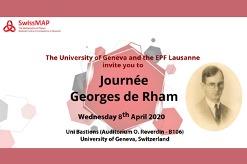Journée Georges de Rham - Registration now open