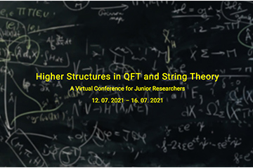 """""""Higher Structures in QFT and String Theory"""" - Registration deadline 12th June"""