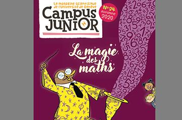 """Autumn 2020 Campus Junior Magazine """"The Magic of Maths""""' (FR)"""