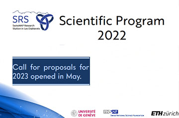 SRS 2022 Scientific Program & Call for 2023 Events