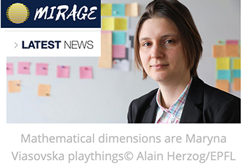 Maryna Viazovska, explorer of mathematical dimensions