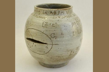 QUANTUM CERAMICS Exhibition - pottery pieces based on collaborative research with Marcos Mariño
