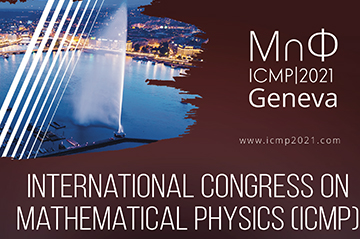 ICMP (Geneva 2-7 August 2021) Registration now open!