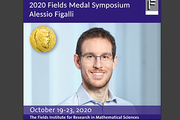 The 2020 Fields Medal Symposium will honour Alessio Figalli