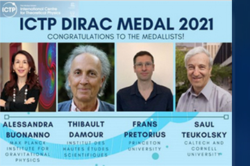 ICTP Dirac Medal