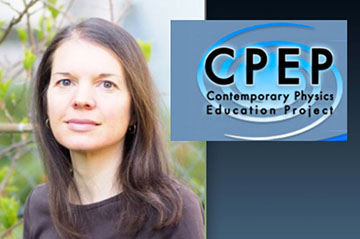 Alice Gasparini (UniGE) receives the 2020 CPEP Award