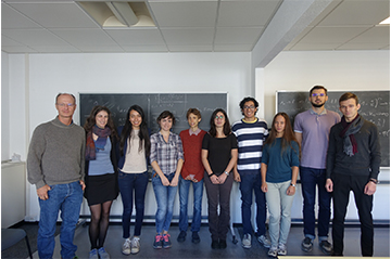 Welcome to this year's Master Class in Mathematical Physics students
