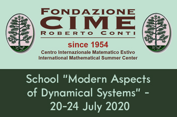 """Summer School """"Modern Aspects of Dynamical Systems"""" (20-24 July 2020)"""