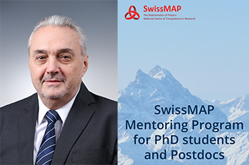 Tudor Ratiu (EPFL) joins the list of mentors of our mentoring programme
