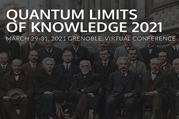 Quantum Limits of Knowledge (29-31 March 2021)
